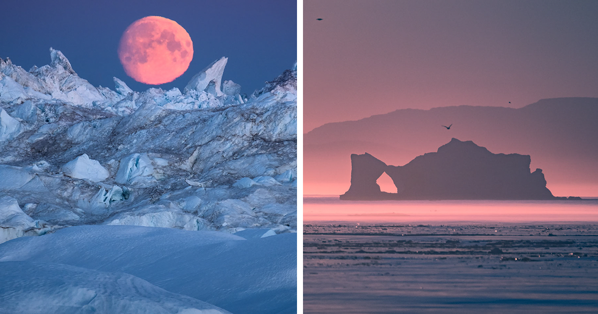 I Photographed Ilulissat Icefjord, A Surreal Place In Greenland Surrounded By Countless Icebergs