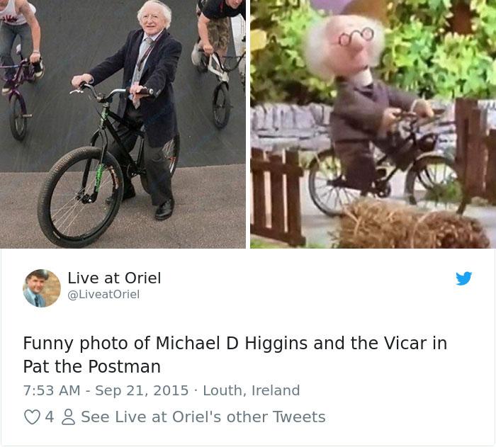 Ireland President Michael Higgins