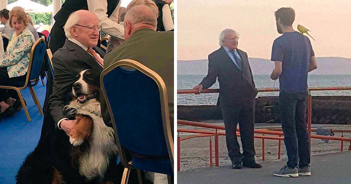 Tired Of Your President? Then Take A Look At 24 Photos Of Ireland's President Being The Best President