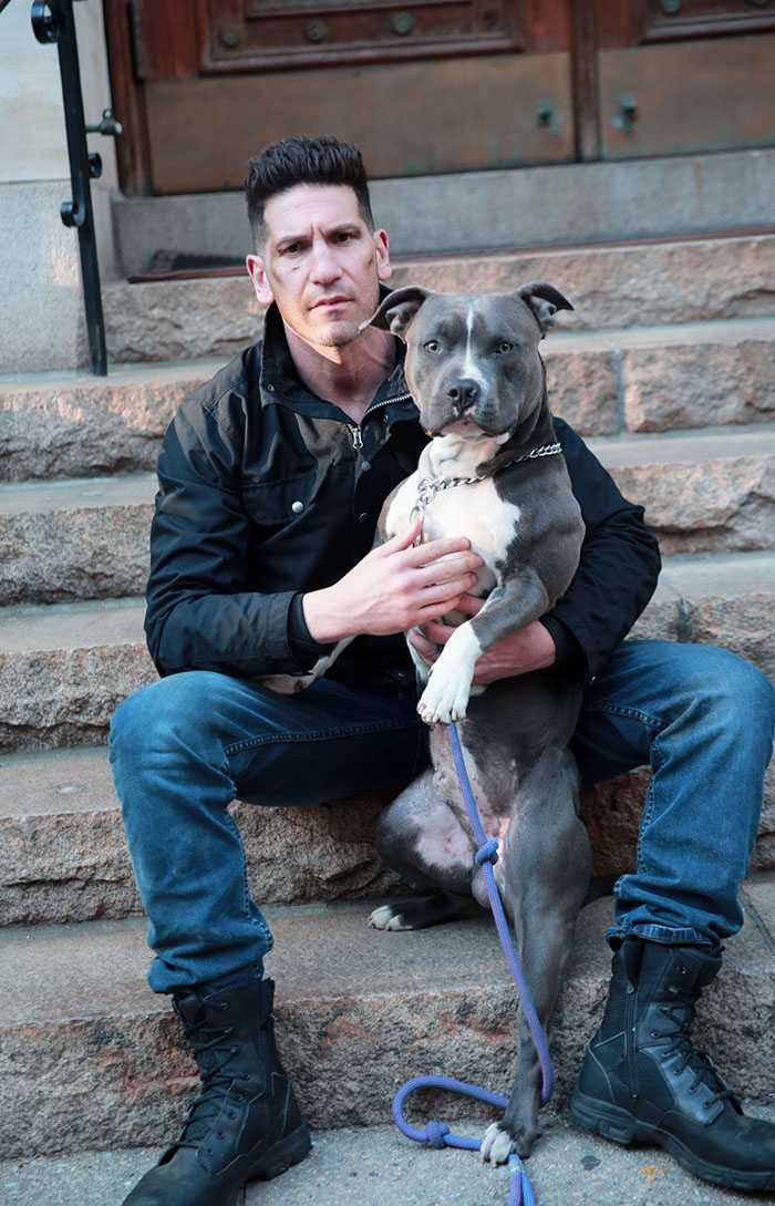 Image result for Jon Bernthal and his dog