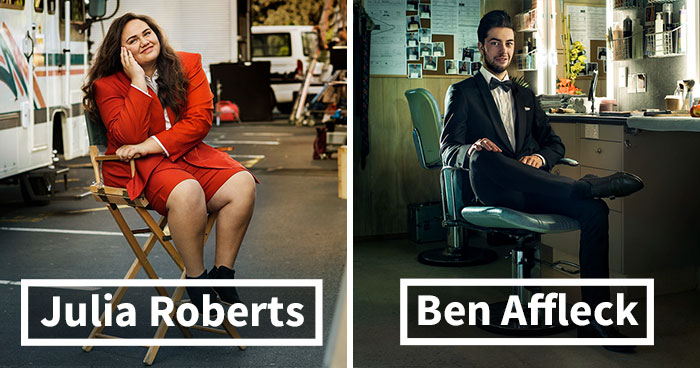 Almost Famous: Photographer Takes Portraits Of People Who Share Same Names With Celebrities