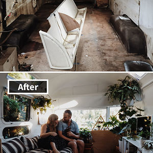 An Airstream Trailer Makeover