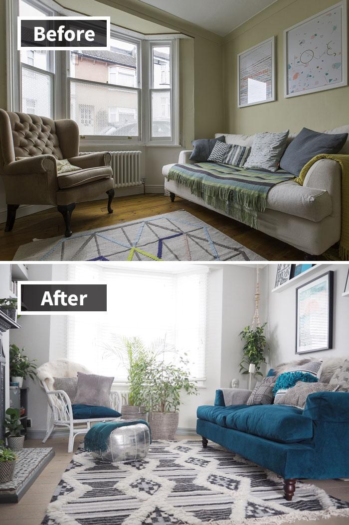 Những hình ảnh trước và sau khi phòng cũ được phù phép thành phòng mới khiến bạn không thể tin vào mắt mình - Ảnh 19.