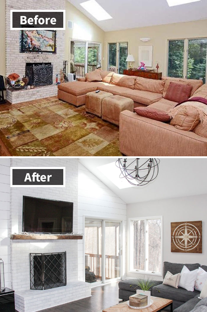 190 Rooms Before And After Makeover Bored Panda