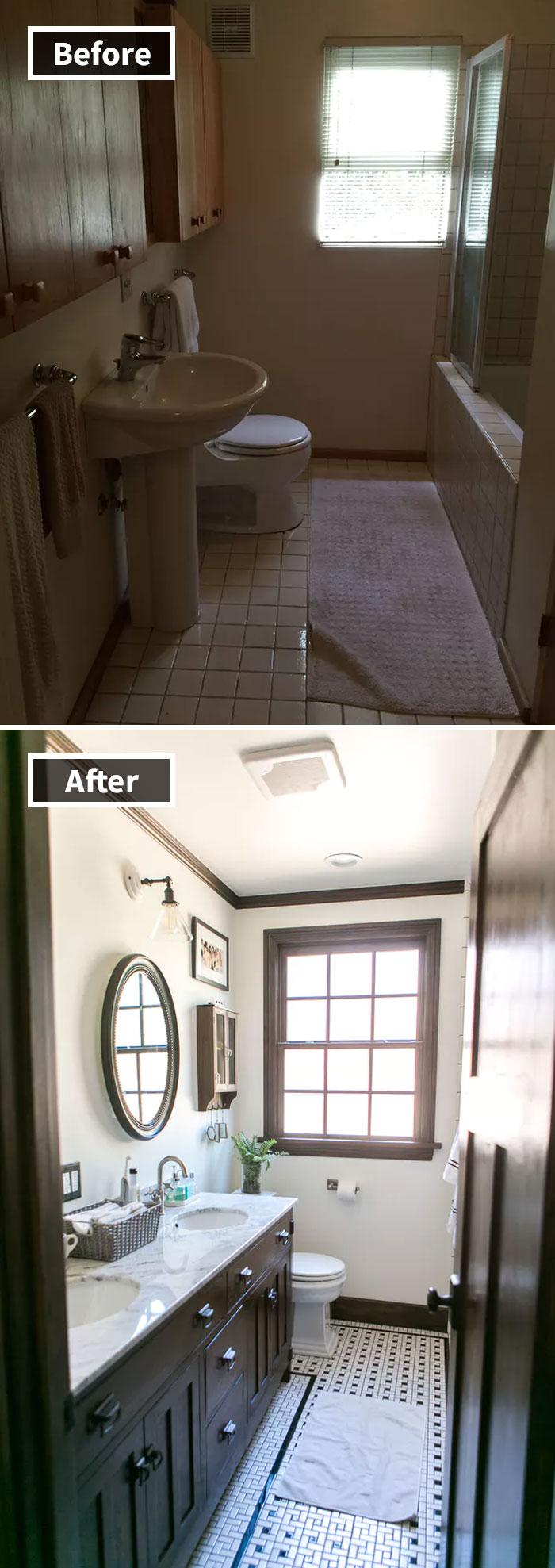 Những hình ảnh trước và sau khi phòng cũ được phù phép thành phòng mới khiến bạn không thể tin vào mắt mình - Ảnh 18.