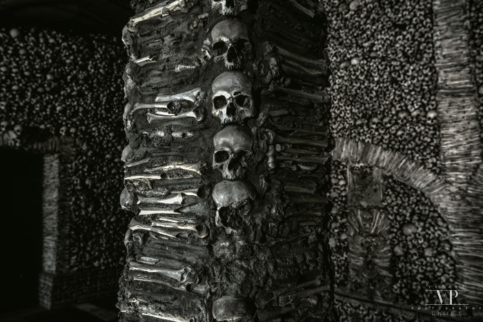 I Photographed This Building Made From Skulls And Bones
