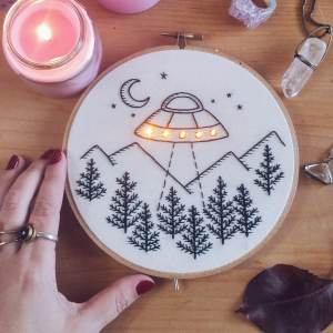 I Do Embroidery That Lights Up