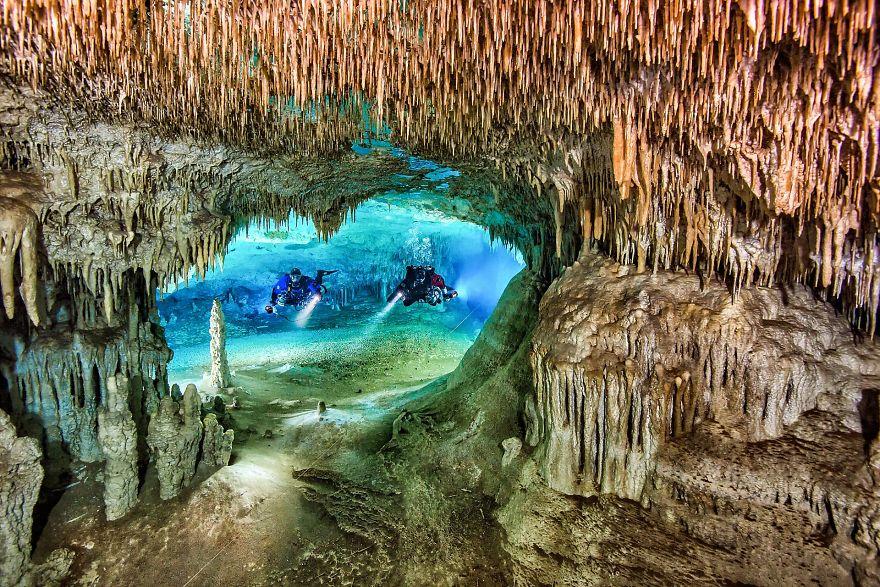 """Wide Angle Category: """"Cenote Nariz"""" By Herbert Meyrl, Germany"""