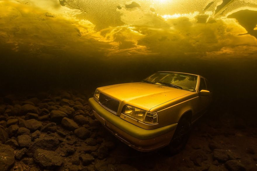 "Wrecks Category: ""Unusually Parked Car"" By Pekka Tuuri, Finland"