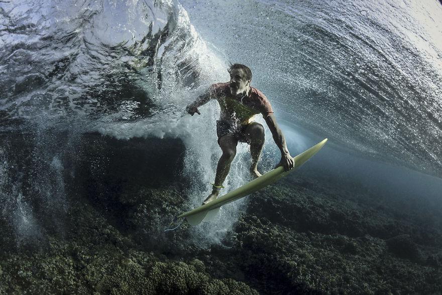 "Portrait Category: Third ""Under The Wave"" By Rodney Bursiel, USA"