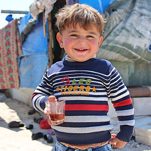 """""""If I Had A Super Power, It Would Be To Fly. I Would Tell Other Children From Around The World To Come And Play With Me And My Sisters, And To Drink Tea Together!"""" – Mohamad, A Syrian Refugee In Lebanon"""