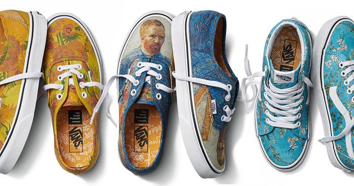 Esta nueva colección de Vans está inspirada en algunos famosos cuadros de Van Gogh
