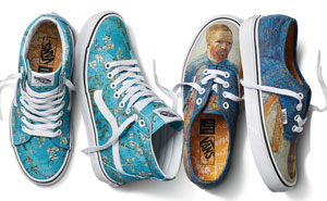 Vans Partners With The Van Gogh Museum To Create New Clothing Line And We're In Love With The Shoes