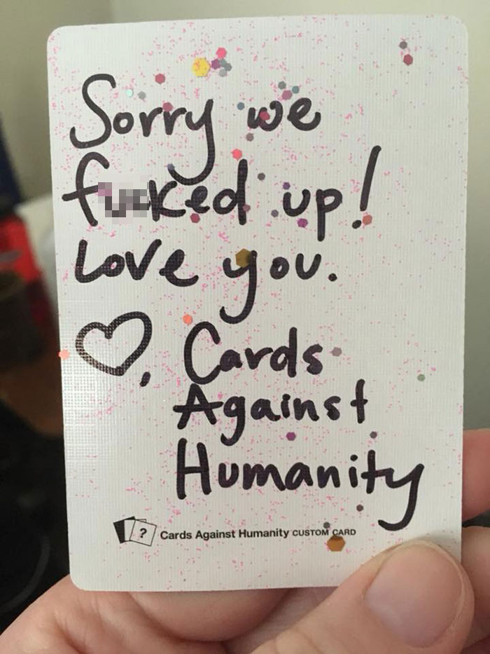 Be Careful What You Wish For The Way Cards Against Humanity