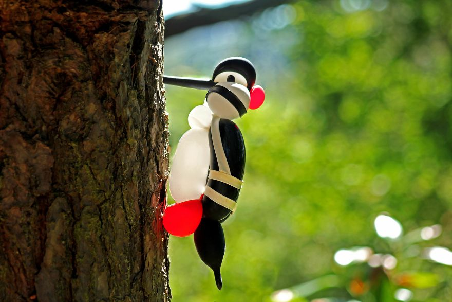 I Like To Make Birds Out Of Balloons