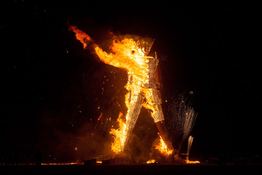 The Burning Man, 2014 - Photo By Philip Volkers