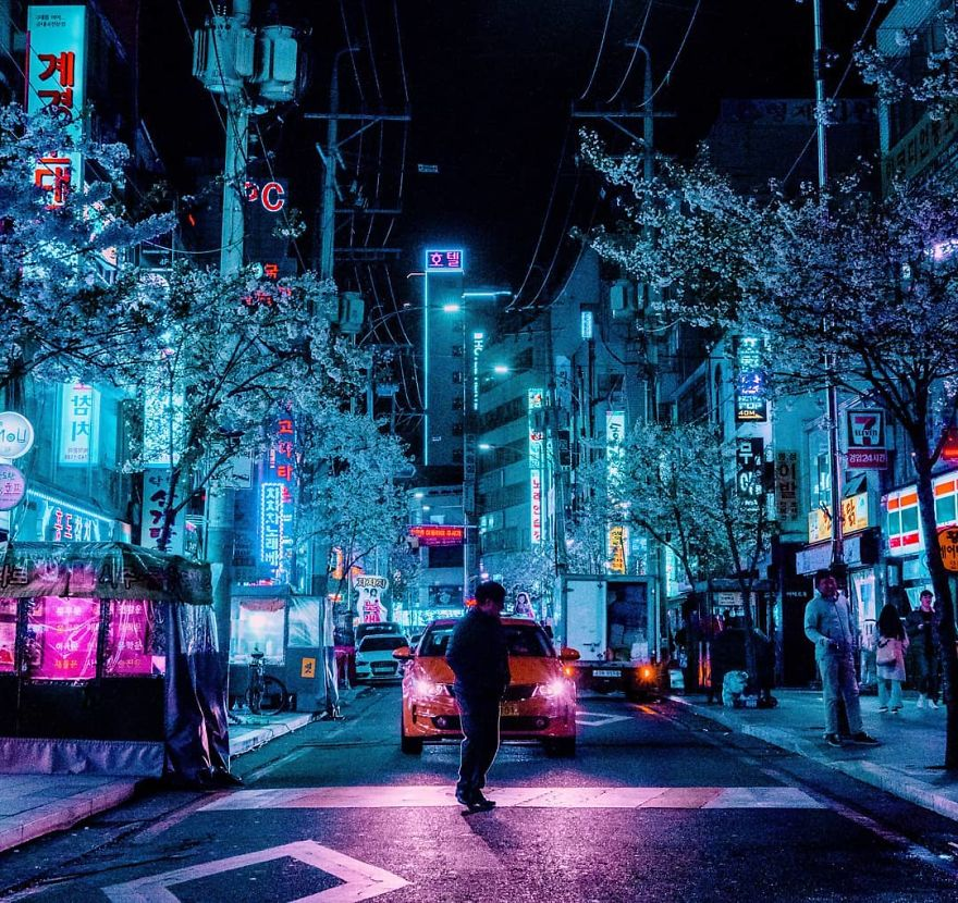 Japanese Sci Fi Art Iso50 Blog: 27 Photos From My Neon Hunting In Cyberpunk Cities Of Asia