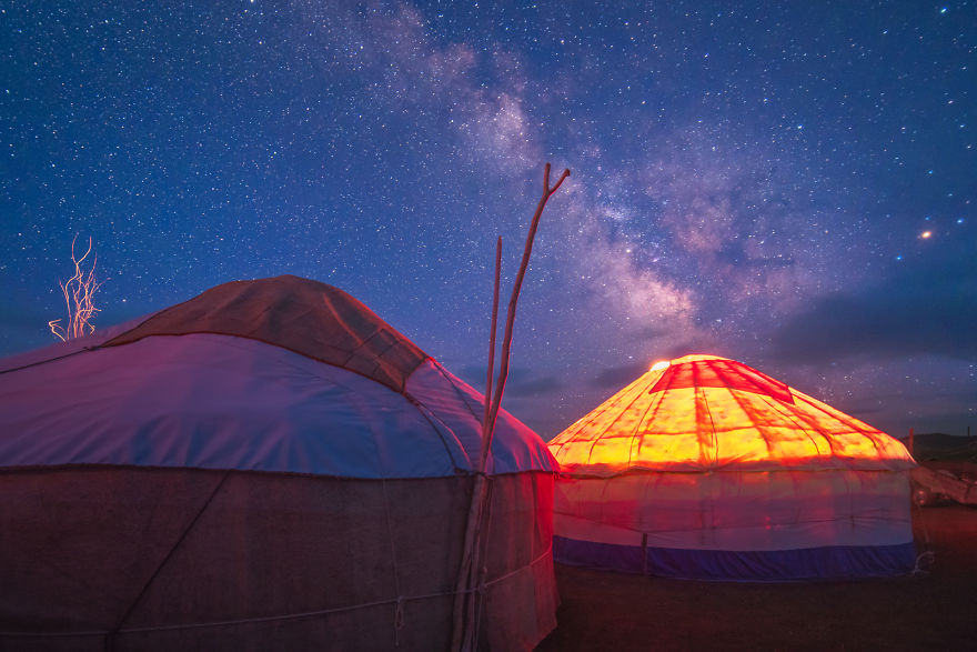 The Night Sky Of Kyrgyzstan Is Unpolluted