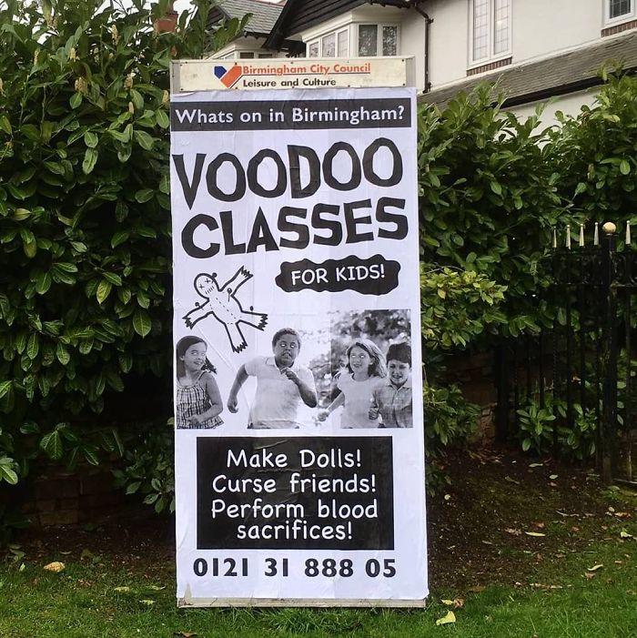 Voodoo Classes For Kids