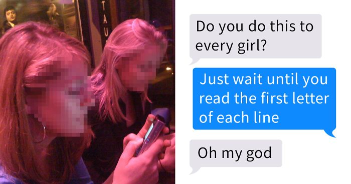 Guy Hides Secret Message While Chatting To His Tinder Match, And