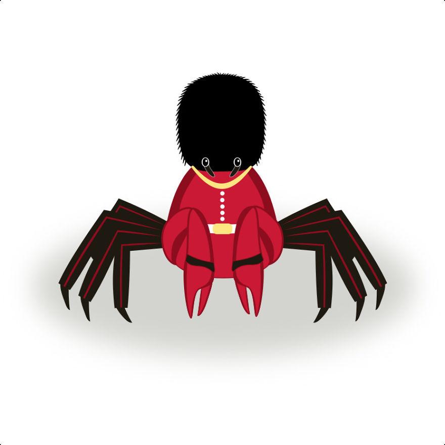 Queen's Guard Crab