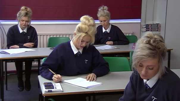 Was Watching Educating Yorkshire When There Was A Glitch In The Matrix...
