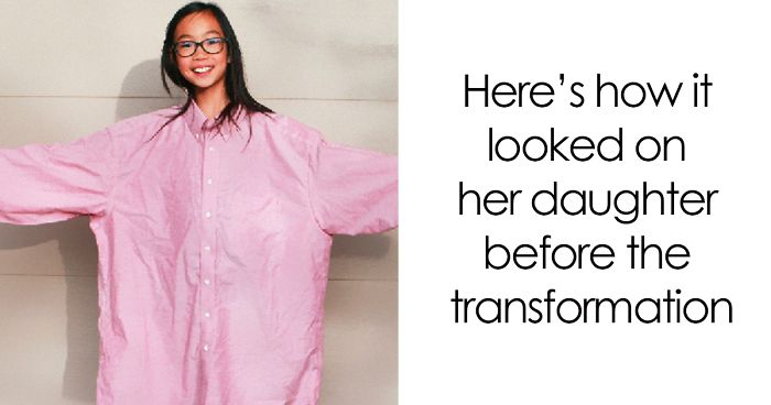 The Way This Mom Transforms Old And Ugly Clothes To Save ... - photo #1