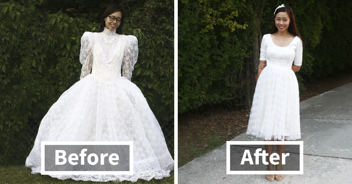3ebd6b7a8 The Way This Mom Transforms Old And Ugly Clothes To Save Money Will Amaze  You