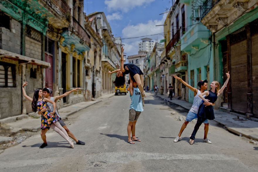 Ballet On The Streets Of Havana, My Spontaneous Photo Experience