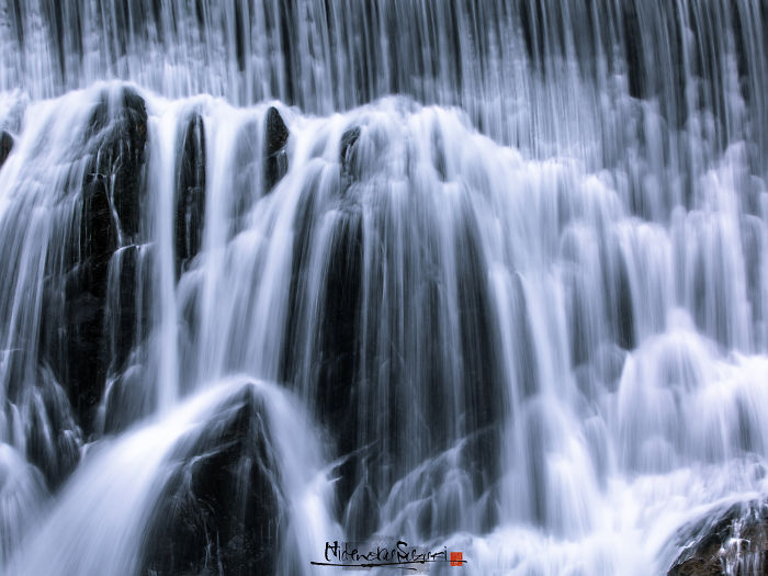 I Photographed Waterfall In Japan