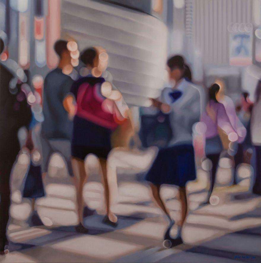 Philip Barlow Oil Paintings