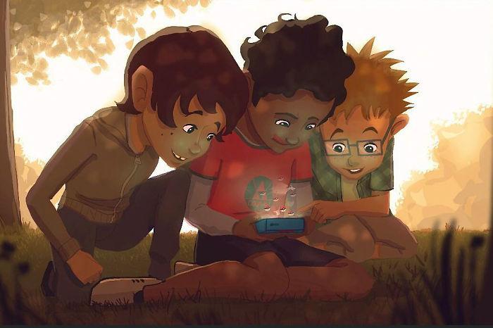 Dieser Künstler illustriert seine Kindheitserinnerungen so gut, dass Dir die Tränen kommen