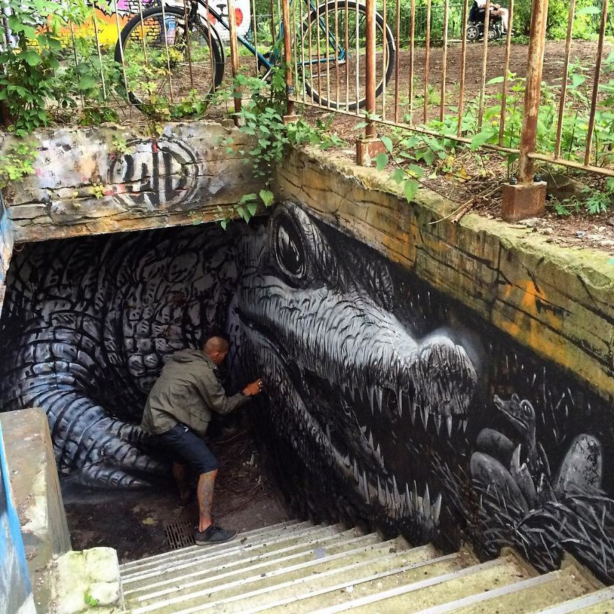 Artist Spreads Wonderful Designs Through The Streets And You Would Love It If He Lived In Your City
