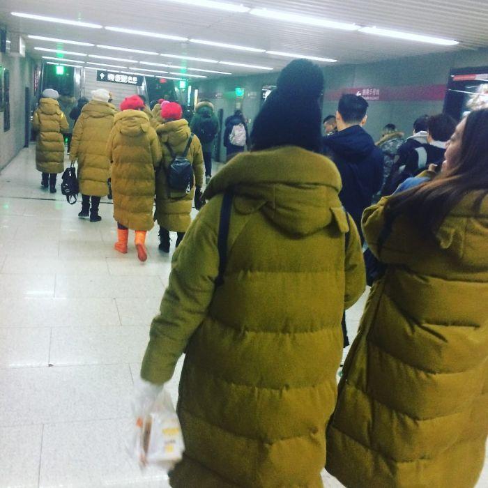Descuento en abrigos o fallo en Matrix