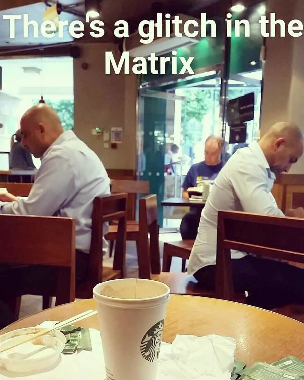 Drinking A Flat White And Wondering If I Should Have Taken The Red Pill Or The Blue Pill?