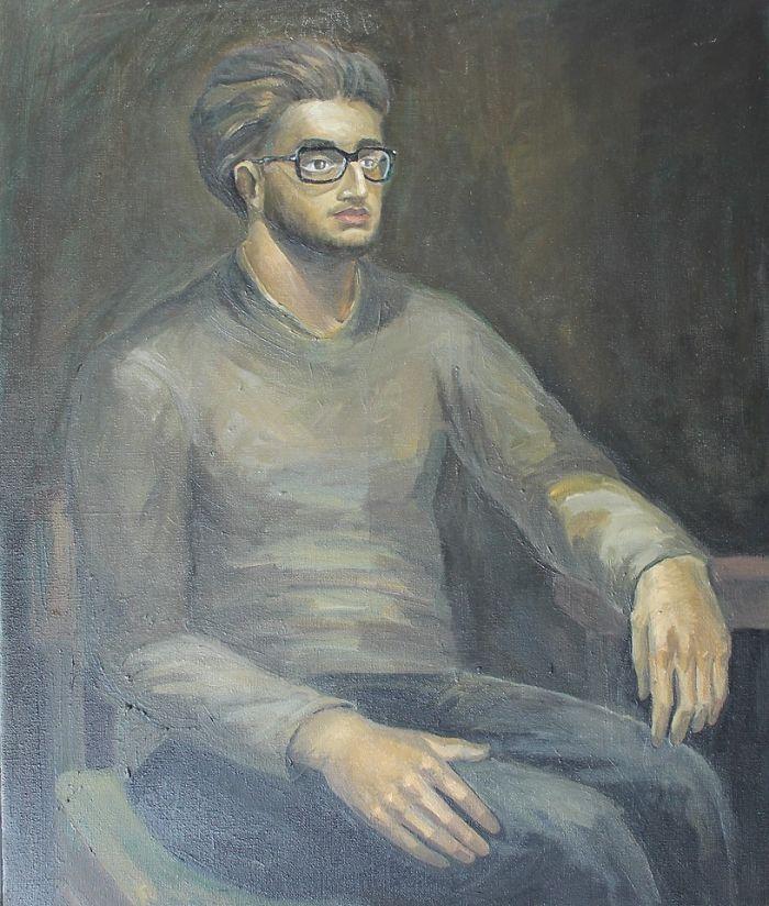 Gigi (Oil On Canvas 60 X 50 Cm.)