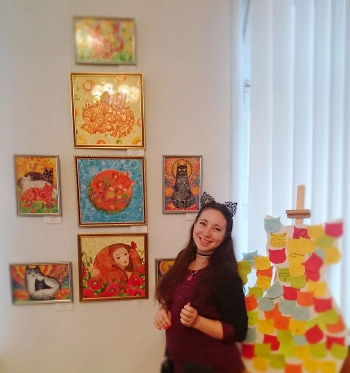 It's Me On Cat Exhibition ^.^