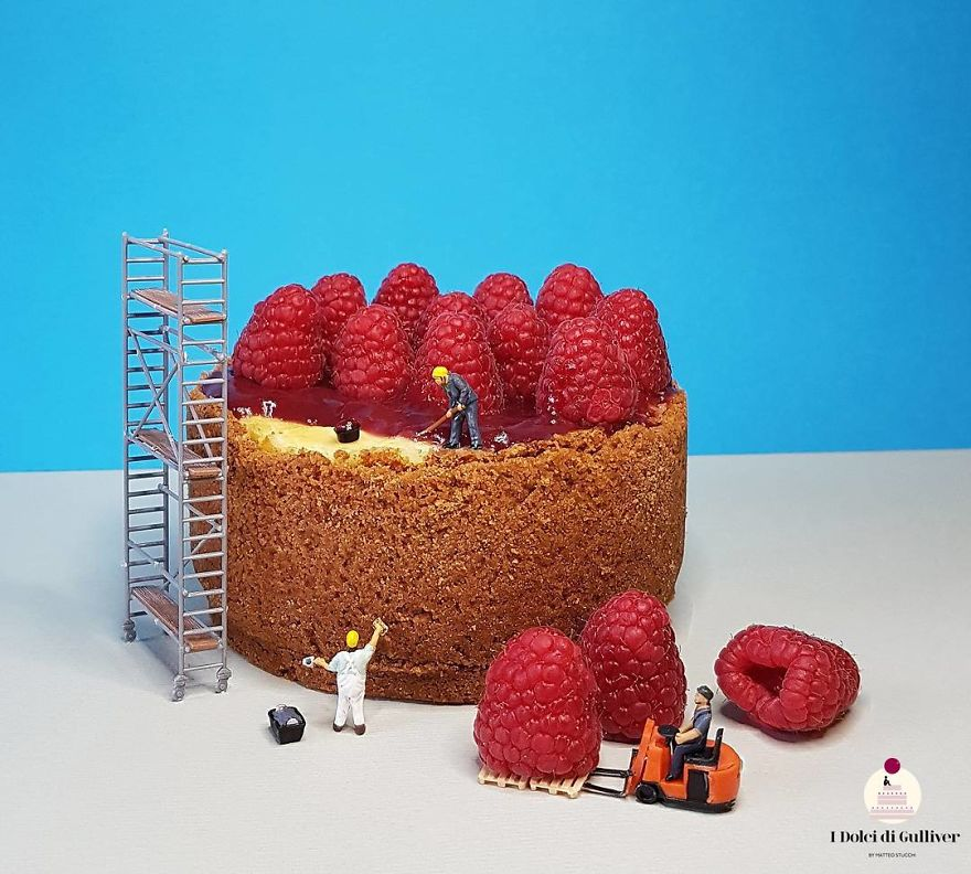 Confectioner Creates Incredible Situations In Their Desserts, Showing That Beauty And Taste Have To Be Together