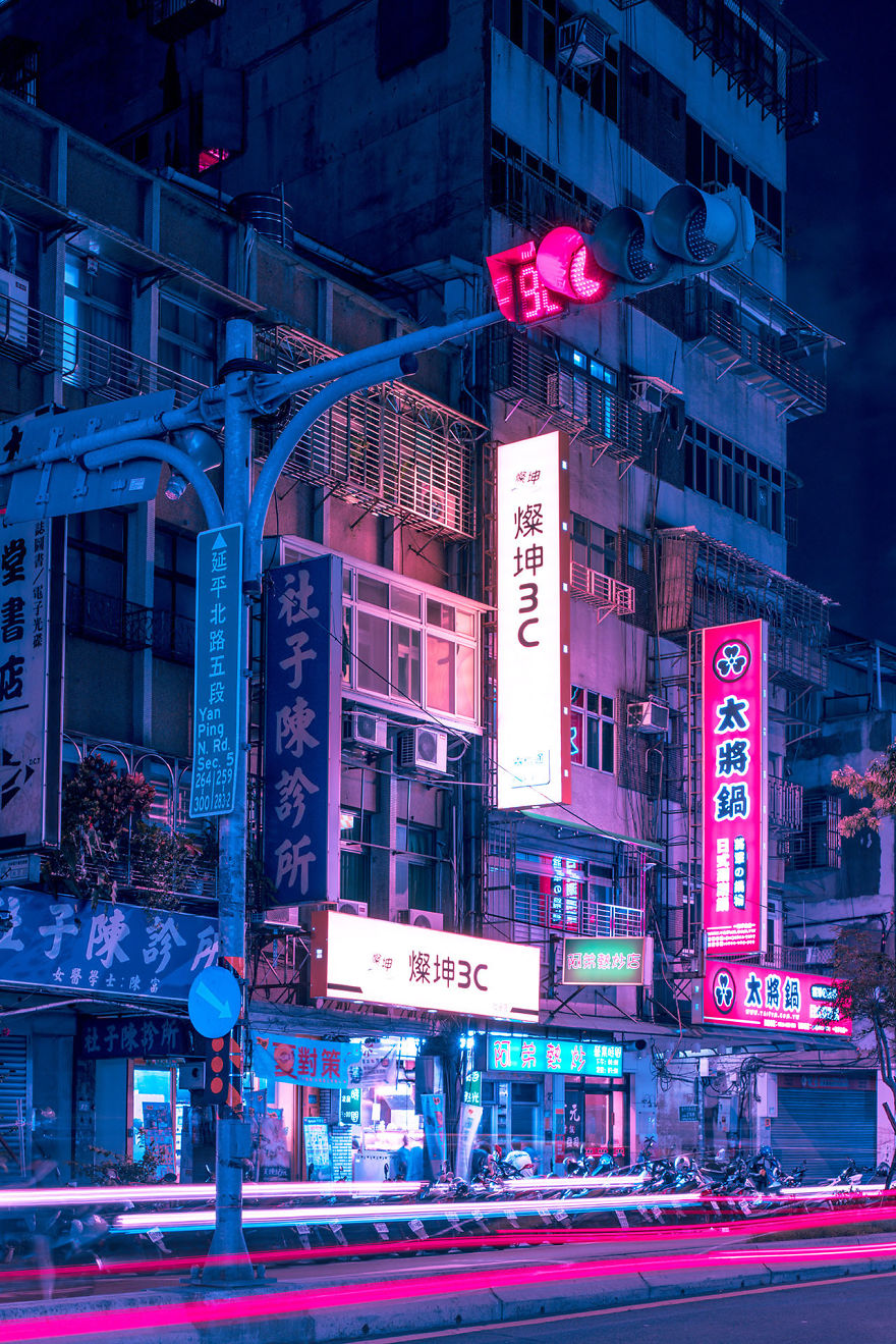 The Lights And Colors Of Taiwan
