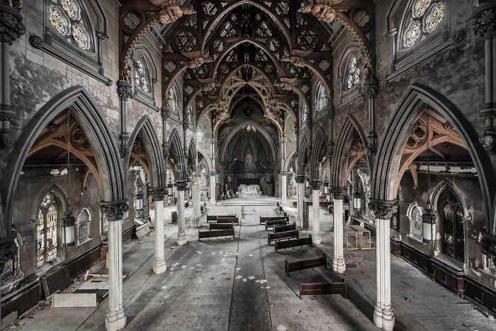 Gothische Kirche in USA