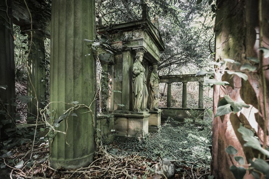 Abandoned Tomb In Germany
