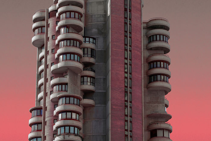 Alien Architecture In Benidorm: I Revisited My Hometown With A Futuristic Aesthetics