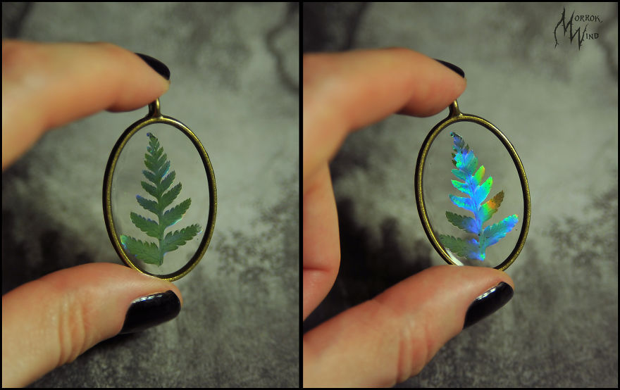 I'm Just Fascinated By Opals And Opalized Fossils, And I Tried To Take This Theme In My Works