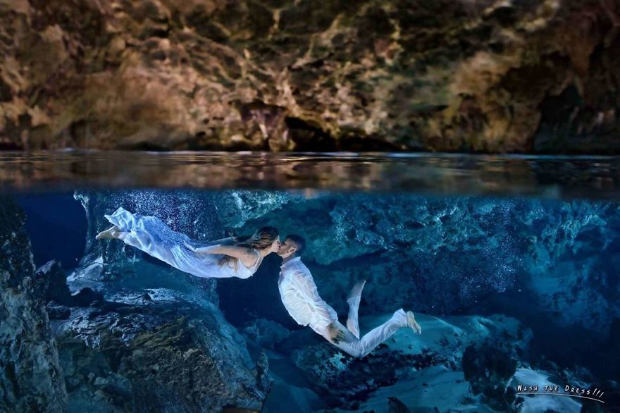 I Capture Love Underwater – Artistic Portraits