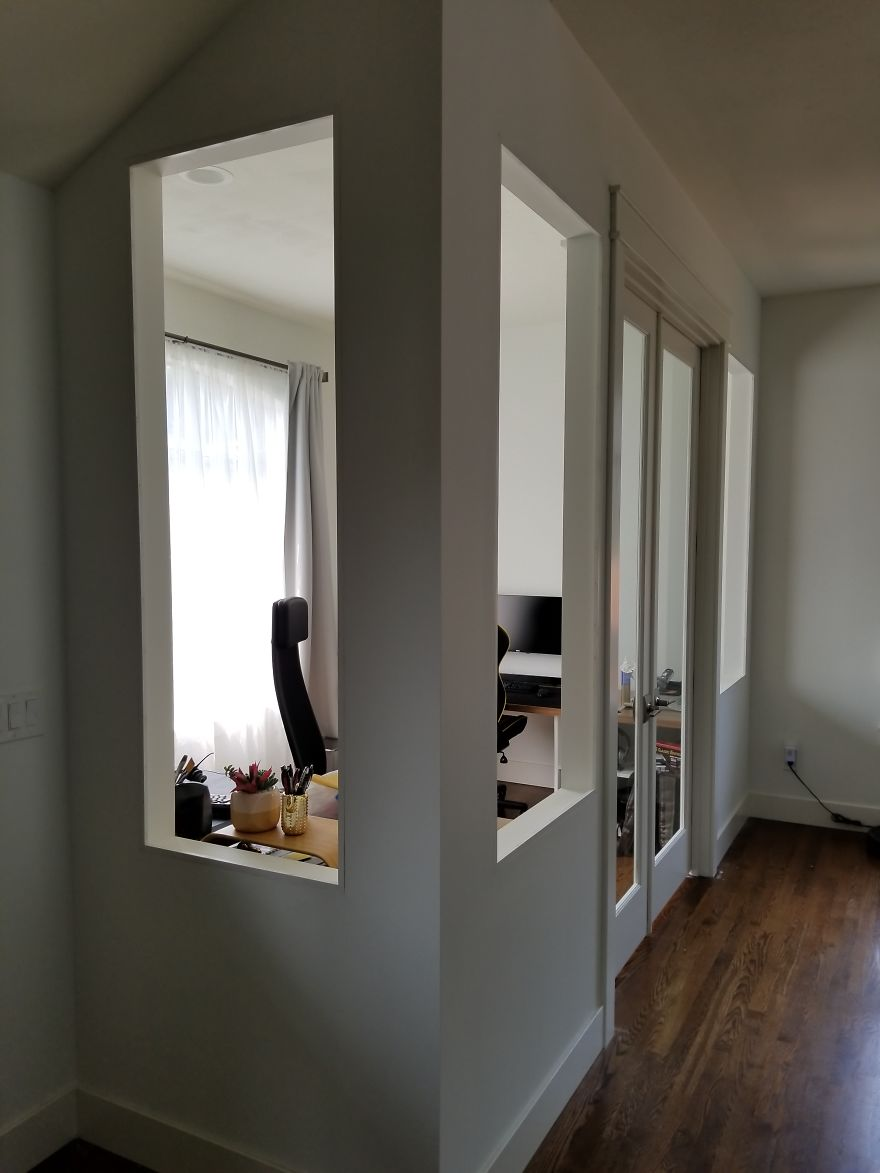 Here's How I Turned Our Formal Living Room Into A Home Office