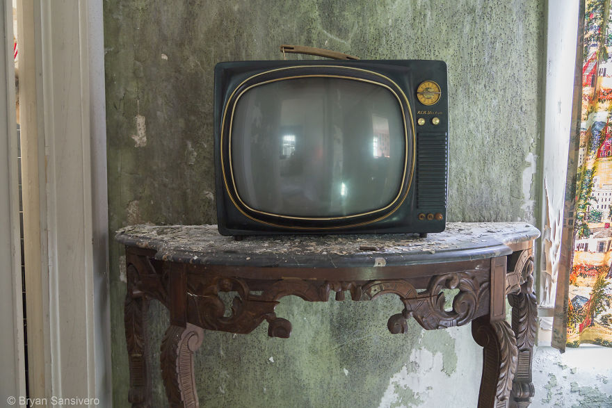 A Tv Upstairs
