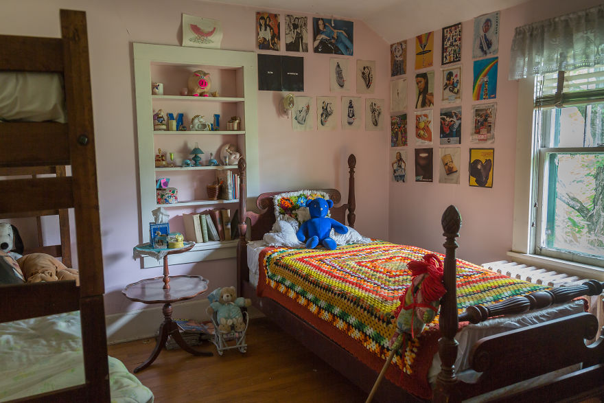 A Child's Bedroom Upstairs