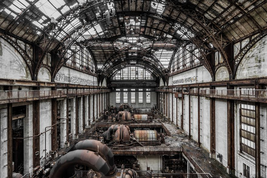 Abandoned Power Plant, USA