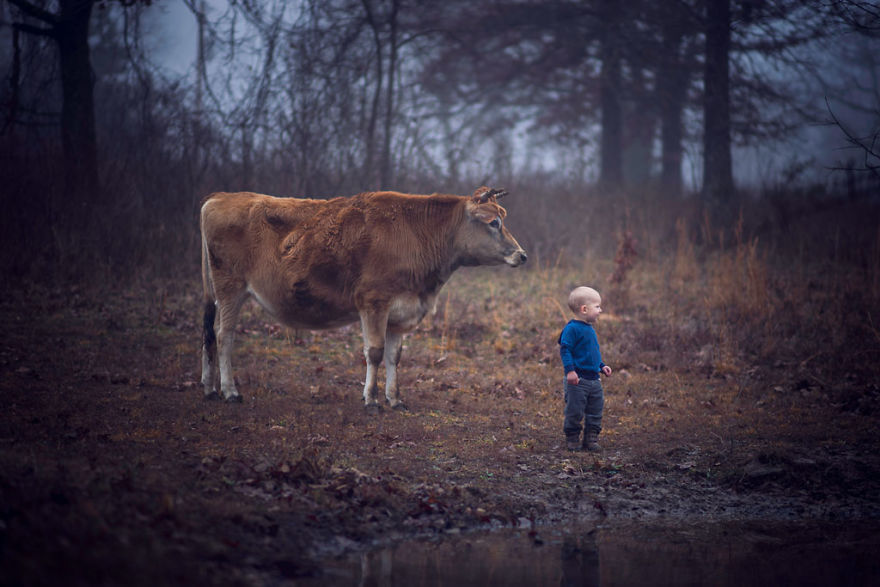 Growing Up In A Farm