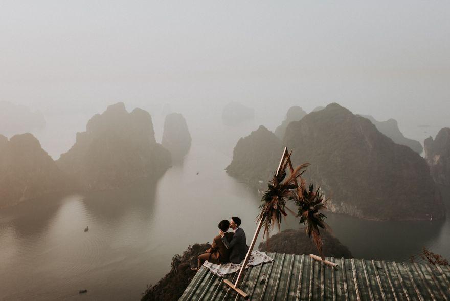Bai Tho Mountain, Vietnam